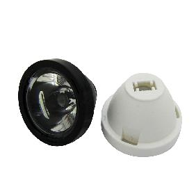 30° 45° 60° Flat Surface Clear Lens for Cree XLamp XPE XPG XTE High Power LED