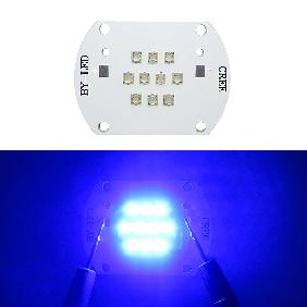 Epistar 45mil 30W 30 Watt Blue 460nm Multichip High Power LED Light