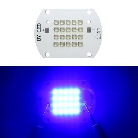 Epistar 45mil 60W 60 Watt Royal Blue 450nm Multichip High Power LED Light