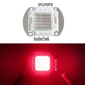 50W 660nm Deep Red Crimson High Power LED Multichip Light Bulb Lamp DIY
