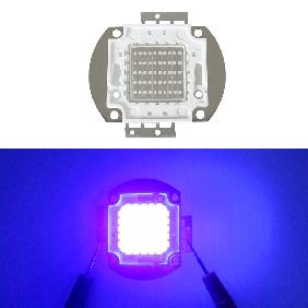 50W Ultra Violet UV Light 395nm-405nm High Power LED 50 Watt Energy Saving Light