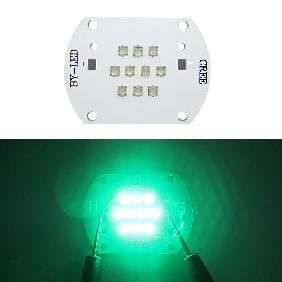 Epileds 30W Cyan 490nm High Power LED Plus Copper PCB Board