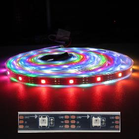 WS2811 WS2812B 5M Digital Individual Addressable 5050 RGB Dream LED Strip 5V New