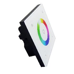 D4 Touch Panel Dimmer Controller Wall Switch For RGBW RGB White LED Strip Light