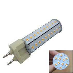 10W 10 Watt 2835 SMD 70 LED Bulb Lamp Cool White/Warm White Corn Light 360° G12