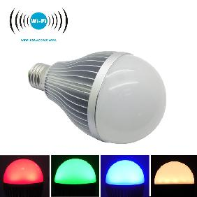 2.4G 12W RGBW RGB Cool White/Warm White Dimmable WiFi LED Light Bulb E27