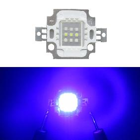 10W Custom LED Emitter 10 Watt Blue White Dual Color For Aquarium Light DIY (Blue White=6:3)