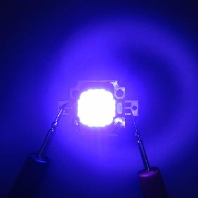10W Custom LED Emitter 10 Watt Blue White Dual Color For