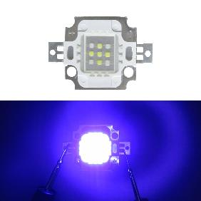 10W Custom LED Emitter 10 Watt Blue White Dual Color For Aquarium Light DIY (Blue White=4:5)