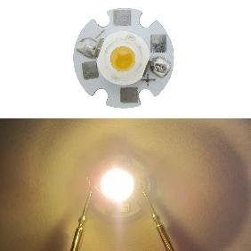 1W High Power LED Warm White 3000K-3500K
