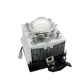Heat Sink Heatsink Cooling Fan Lens Holder For 20W 30W 50W High Power LED 60 Degree/90 Degree/120 Degree