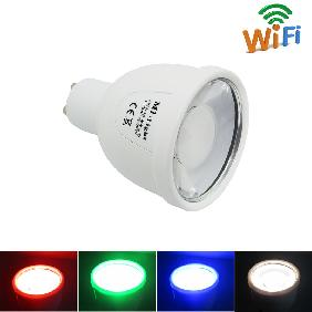 Mi·Light Smart Phone WiFi 2.4G 4W RGBW RGB White LED Light Bulb Lamp GU10
