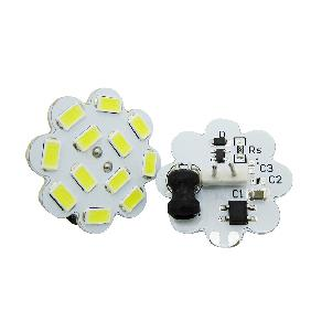 G4 4W Cool White/Warm White 5730 SMD LED Light Bulb Lamp AC12V/DC12V-30V