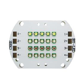 Cree XP-E RGBW Red Green Blue White 4 Channel LED Light 20 Dots