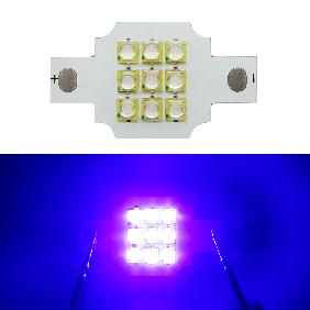 10W 10 Watt Epileds Ultra Violet UV 395nm LED 9V-11V 900mA