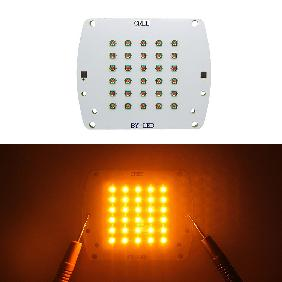 100W Cree XP-E LED Yellow Light