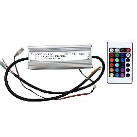 60W RGB Multicolor High Power LED Driver Infrared IR Remote Controller