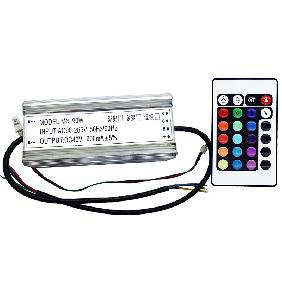 90W RGB Multicolor High Power LED Driver Infrared IR Remote Controller