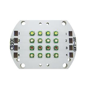 Cree XP-E RGBW Red Green Blue White 4 Channel LED Light 16 Dots