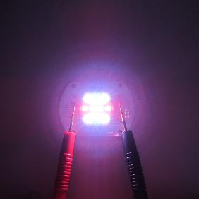 30W 30 Watt Cree XP-E LED Emitter White 6000K Blue 460nm Red 620nm Light