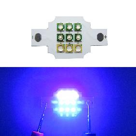 Cree XPE Royal Blue 450nm 470nm Epileds UV 420nm Multichip LED 9-11V 900-1400mA