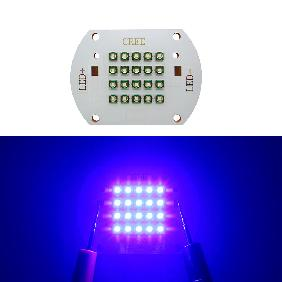 60W Cree XPE XP-E Multichip LED 60 Watt Royal Blue 450nm-455nm Light Copper PCB