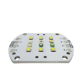 KW1 36W 4 Channel 430nm 450nm 495nm 660nm 6500K 10000K Cree Epileds 12 LED Matrix