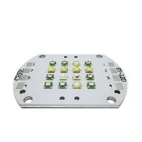 KW4 48W 4 Channel 430nm 450nm 470nm 495nm 660nm 6500K Cree Epileds 16 LED Matrix