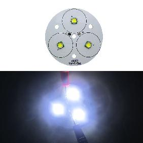 30W White Light 3pcs Cree XLamp XM-L XM-L2 Chip LED in Series on 50mm PCB Board