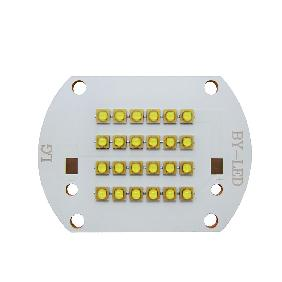 24pcs 28pcs Bead LG Chip Cool White/Neutral White/Warm White LED on Copper PCB