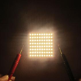 90W-216W Cree XP-E Multichip Warm White 3000K LED Matrix Light DC 30V-32V 3A-6A