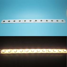 12W LUXEON Multichip LED 12V 1A White or Warm White Light Bar 400x30x2mm