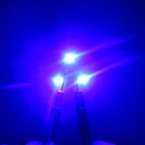 30W Royal Blue 450nm-455nm LED 9-11V 2-3A For Flashlight Fis...