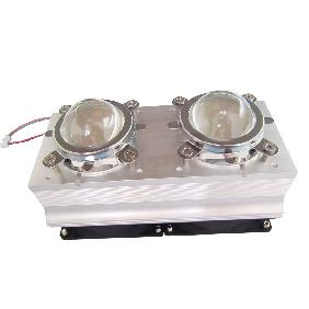 Aluminium Heatsink Twin Fan 60 Degree Lens For 20W 30W 50W 6...
