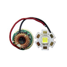Cree MKR MK-R White Led + Dimmable Driver 5 Mode For Input Voltage DC 7V~15V
