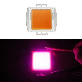 150W Pink 400nm-840nm Full Spectrum Grow Light LED 32V-34V 5250mA