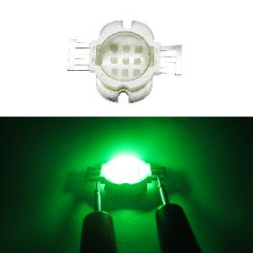 10W Epileds 45mil Green High Power LED DC 9-11V 1A Viewing Angle 60 Degree