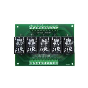 5 Channel Meanwell Mean Well LDD-350H LDD-500H LDD-600H LDD-700H LDD-1000H LED Drivers on PCB Board