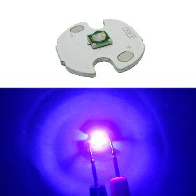 Epileds 3W 3 Watt UV Ultra Violet 400-405nm LED DC 3.4-3.6V 700mA