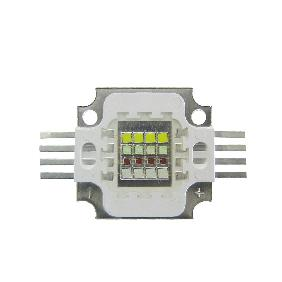 30W 4 Channel RGBW LED Red Green Blue White Full Color 16 Multichip Light