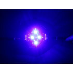5 Channel Cree Epileds Red Royal Blue White Cyan UV LED Reef Tank Aquarium Light