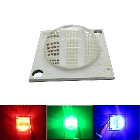 50W RGB Multicolor COB High Power LED Red Green Blue Rainbow Light
