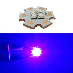 12W Cree XLamp XPG2 XP-G2 4 Chip LED Royal Blue 450nm-455nm Light 3V 6V 12V