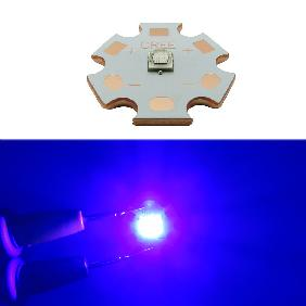 5W Cree XPG2 XP-G2 Royal Blue 450nm-455nm LED 20mm Copper Star PCB Board