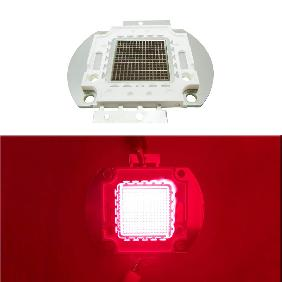 225W Red 630-635nm 660nm High Power LED Epileds 42mil Multichip Light