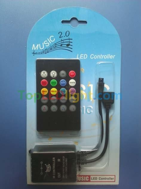 infrared-Music-LED-controller