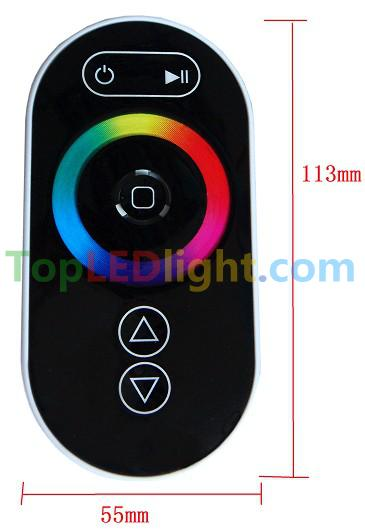 LED RF touch controller