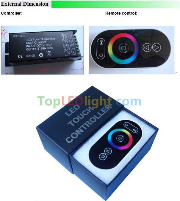 RF-touch-controller-for-LED-light