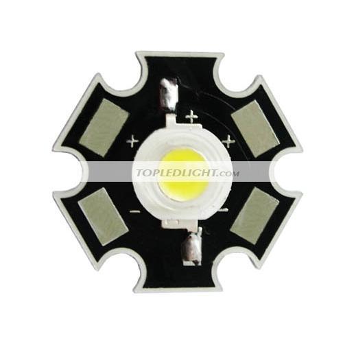 Cool Cold White High Power LED Bulb Lamp Light 3 Watt 3W 35000K [BY ...