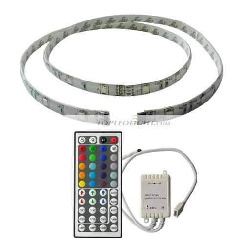 1m rgb flash led light strip 44key diy remote control by ls5050rgb1ma. Black Bedroom Furniture Sets. Home Design Ideas